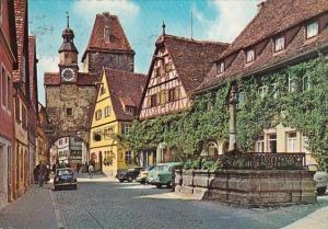 Germany Rothenburg Markusturm