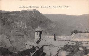 France Salins-les-Bains (Jura) - Loggia du Fort Belin et Fort St-Andre