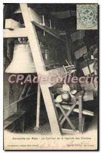 Old Postcard Corneville Sur Risle Carillon From The Legend Of Bells