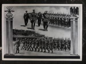 1939 Berlin Germany RPPC Postcard cover homecoming of our victorious volunteers