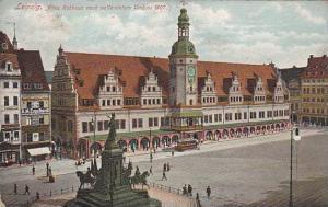 Leipzig , Germany , 00-10s ; Altes Rathaus nach Vollendetem Umbau 1907