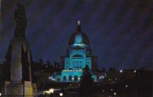 Canada Saint Joseph Oratory At Night Montreal Quebec