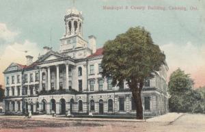 COBOURG , Ontario , Canada , 1900-10s ; Municipal & County Building