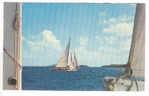 Sailing , U.S. Virgin Islands , 40-60s