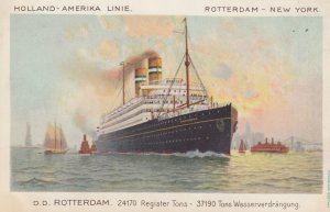 Holland-America Line Ocean Liner D.D. Rotterdam , 1900-10s