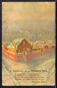 A Sunbeam ina Winter's Day Scene BIN