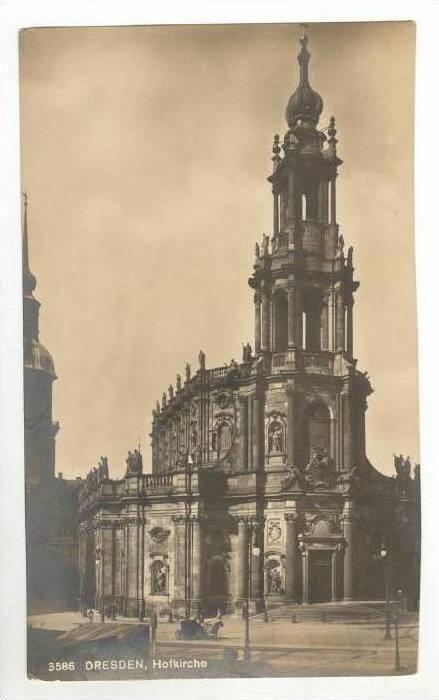 RP  Dresden, Germany, 00-10s   Hofkirche