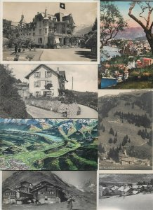 Switzerland Brünig Faldumalp Clarens and more Postcard Lot of 20 01.12