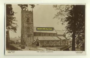 cu0425 - Haworth Church , Yorkshire - postcard