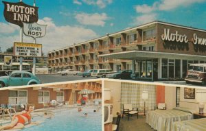 NIAGARA FALLS , Ontario, 1950-60s ; Your Host Motor Inn