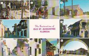Florida Saint Augustine The Restoration Of Old Saint Augustine
