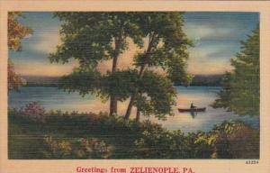 Pennsylvania Greetings From Zelienople 1947