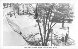 East Northfield Massachusetts The Northfield Real Photo Antique Postcard J52166