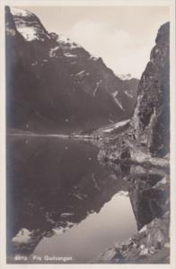Norway Fra Gudvangen Real Photo