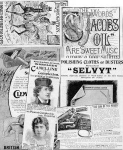 Antique Bag Full Of Vintage 15x Cigarettes Soap Advertising Ephemera Bundle