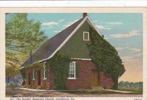 Virginia Lynchbrug The Quaker Memorial Church