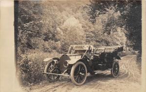F22/ Early Automobile Real Photo RPPC c1910 People Postcard 19