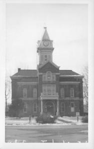 Toledo IL~Cumberland County Courthouse~Real Photo Postcard RPPC c1950 Reprint?