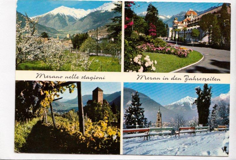 Merano nelle Stagioni, 1973 used Postcard