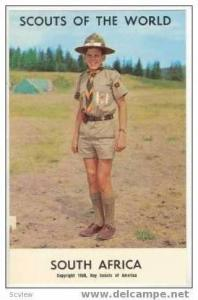 Boy Scouts of the World, SOUTH AFRICA SCOUTS, 1968