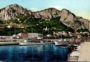 Italy Capri Marina Grande The Port