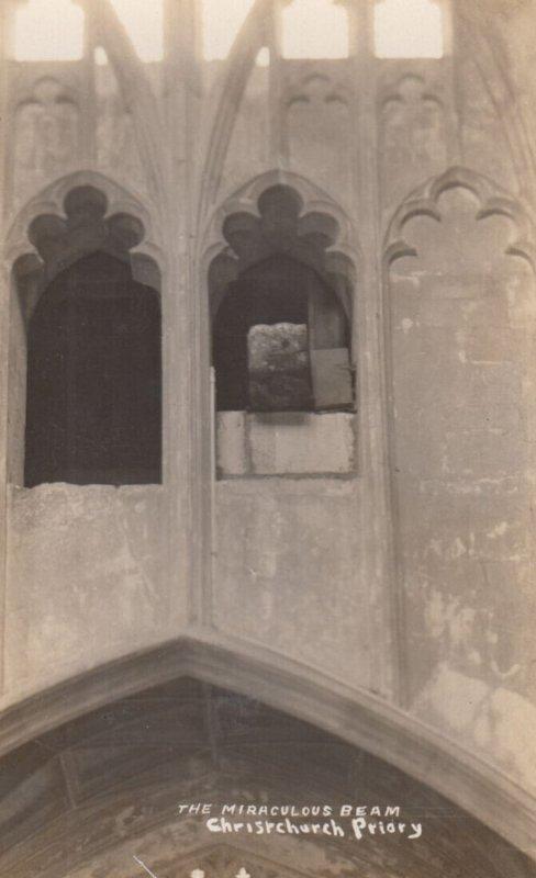 RP: CHRISTCHURCH , Dorset , England , 1930s ; Church Interior , The Miraculou...