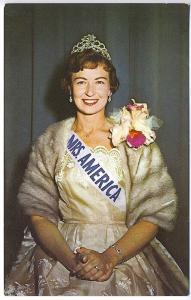 Kentland IN Mrs. America 1961 Promotional Advertising Vintage Postcard