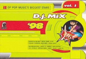 Advertising Beast Records D J Mix '98 Volume 1