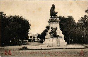 CPA AK INDOCHINA Saigon Place et Statue Gambetta VIETNAM (956619)