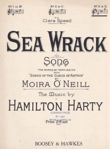 Sea Wrack Moira O Neill Songs Of The Glens Of Antrim Olde Sheet Music