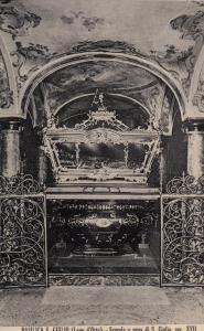 Basilica Giulio Scurolo E Urna Old Special Postmark Postcard