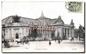 Old Postcard Paris Grand Palais