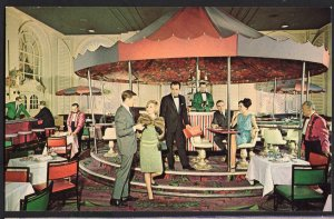 Massachusetts BOSTON The Merry-Go-Round Lounge Sheraton-Plaza Hotel - Chrome