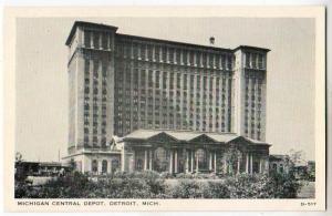 Michigan Central Depot, Detroit MI