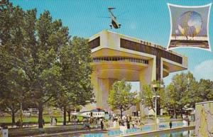 New York World's Fair 1964-1965 Port Of New York Authority Heliport and Exhib...