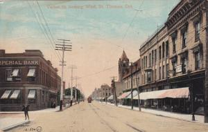 Talbot Street looking West , ST. THOMAS , Ontario , Canada , PU-1912