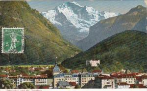 Switzerland Interlaken und die Jungfrau 1912