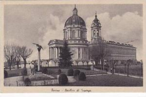 Italy Torino Basilica di Superga