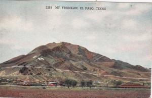 Mt. Franklin , EL PASO , Texas ; PU-1940
