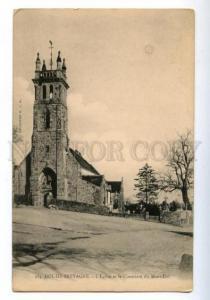 173932 FRANCE DOL-DE-BRETAGNE Church cemetery Vintage postcard