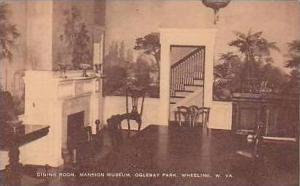 West Virginia Wheeling Dining Room Mansion Museum Oglebay Park Artvue