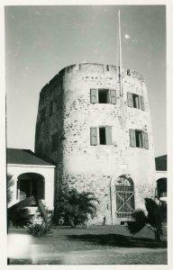 1950's CHARLOTTE AMALIE ST THOMAS*BLUEBEARD CASTLE HOTEL*RPPC*VINTAGE POSTCARD