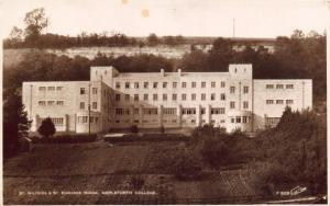 Postcard Vintage 1938 Ampleforth College St Wilfrids & St Edwards House YORK