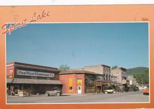 Idaho Spirit Lake Main Street Business Area 1991