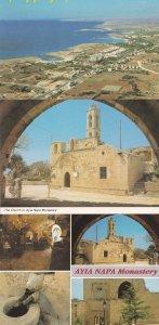 Ayia Napa Church Monastery 3x Cyprus Postcard s