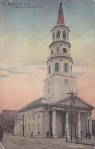 Saint Michaels Church Charleston South Carolina 1910