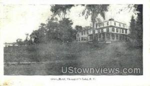 Grove Hotel Thompsons Lake NY 1907