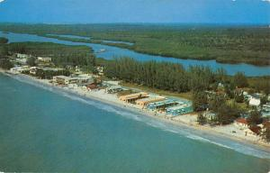 St Petersburg Florida Indian Rocks Birdseye View Vintage Postcard K68596