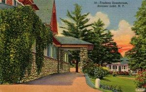 NY - Saranac Lake. Trudeau Sanitorium