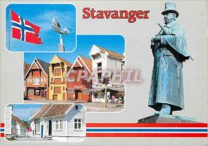 Postcard Modern Stavanger Norway
